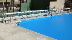 Enrollador piscina Villanueva