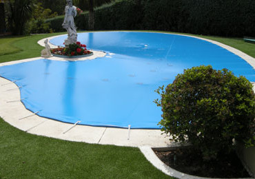 Lona protección piscinas