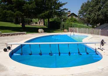 Lonas para piscina en madrid for Lona termica piscina