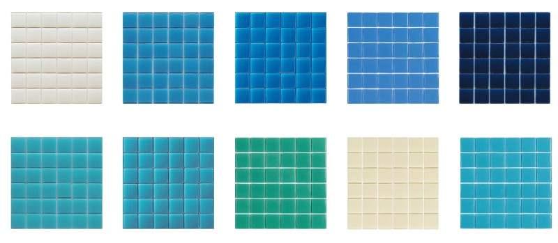 Gresite para piscina y decoraci n hisbalit 25 descuento for Dibujos para piscinas en gresite