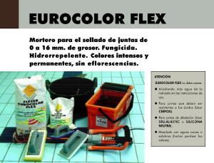 Lechada Fixcer Eurocolor Flex